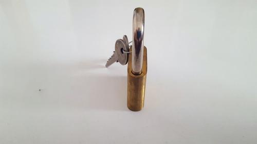 candado bronce krondiamant 40 mm 2 llaves