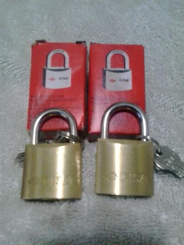 candado cisa de 30 mm nuevos con 2 llaves originales