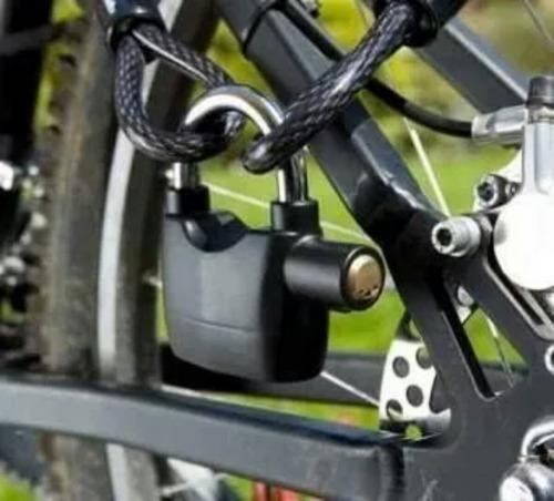 candado con alarma para moto,bicicleta,casa o negocio