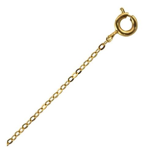 candado con cadena chapa de oro 22 k