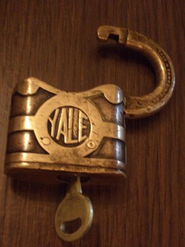 candado de bronce uso marino yale & towne