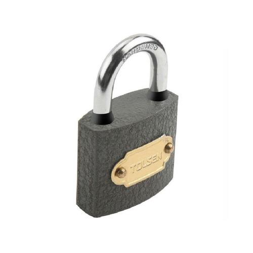 candado de hierro 50mm 260g 3 llaves tolsen