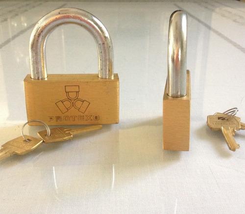 candado de máxima seguridad    marca: protexo    70mm