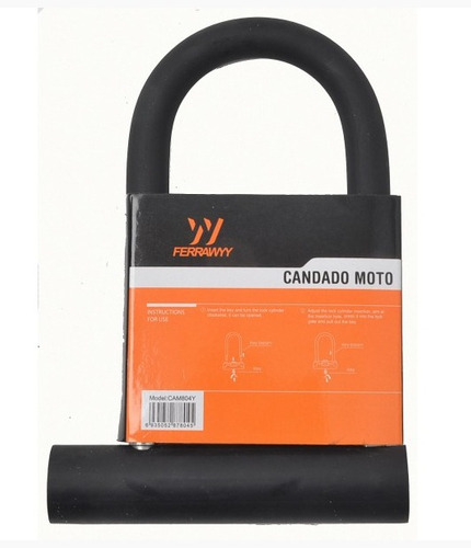 candado de seguridad para motocicleta r804