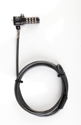 candado de seguridad targus con clave 1,5 metros asp61la