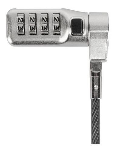 candado de seguridad universal targus 3 en 1 tbar/noble/nano