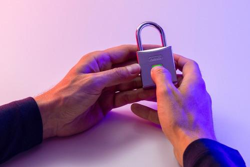 candado digital next abus -tu huella es la llave
