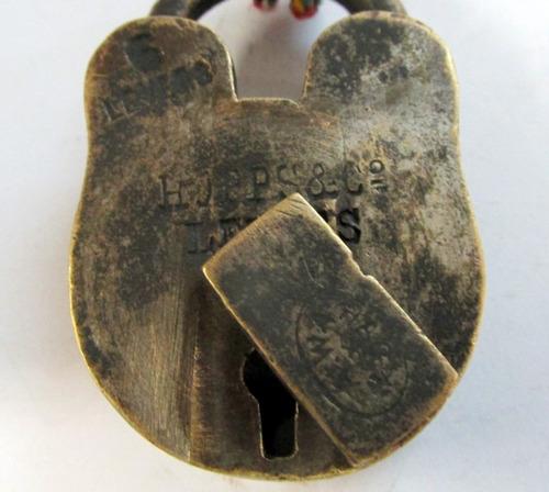candado llave, antiguo