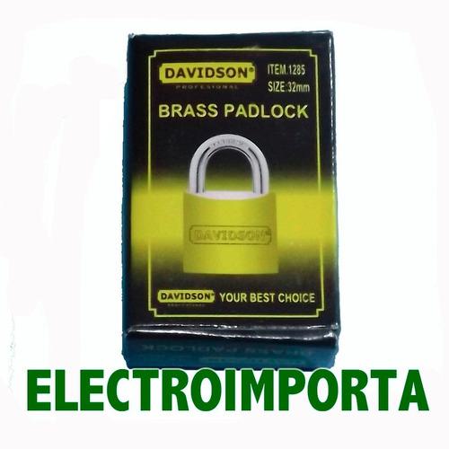 candado metálico 32mm - electroimporta -