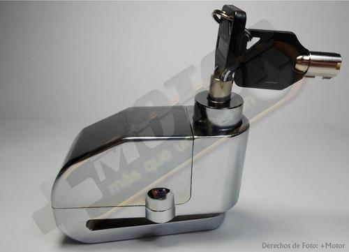 candado moto alarma freno de disco o bicicleta