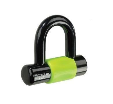 candado motos kryptolok disc lock  + guaya kryptoflex 815