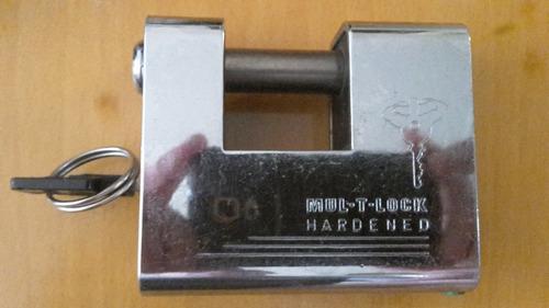 candado mul-t-lock hardened anticizalla