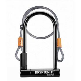 Candado Para Bicicleta U-lock De 8  + Eslinga De 1,2 M Kryptonite Keeper Std