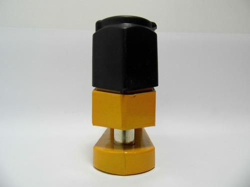 candado para freno disco largo qilong disc blister amarillo.
