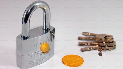 candado tigon nueva tecnologia cilindro discos 50mm emn