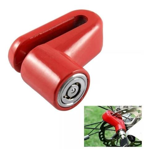 candado traba tranca disco freno bicicleta o moto antirrobo