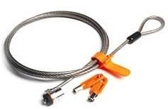 candado y cable para laptop hp gp676la