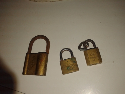 candados antiguo llaves