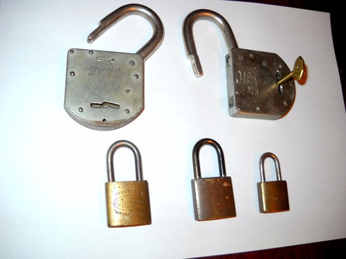 candados llave antiguos