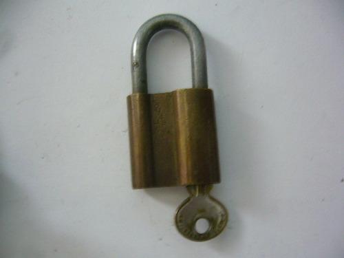 candados llave dos antiguos
