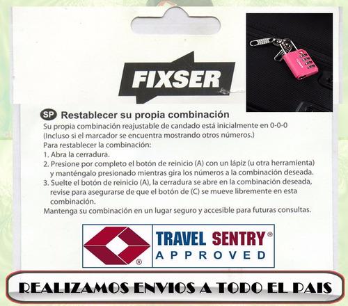 candados tsa con cable maxima seguridad!!