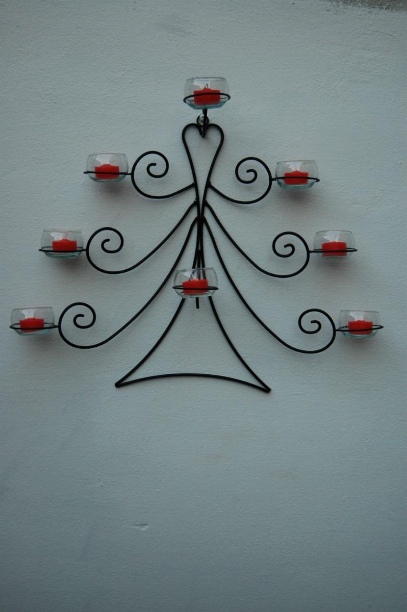 Adornos para paredes top awesome estrellas de navidad for Adornos colgar pared