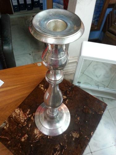 candelabro antiguo deco bronce baño de plata frances