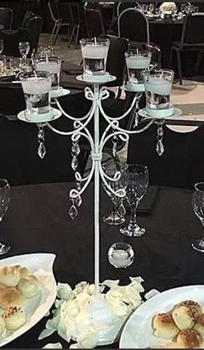 candelabro , centro de mesa,15 años ,casamiento.