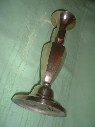 candelabro de bronce  macizo grande
