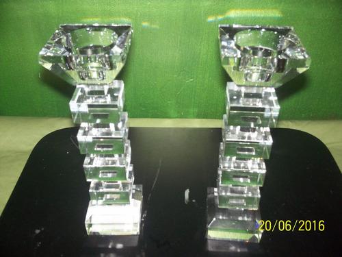 candelabro de cristal bohemia 25 cm alto valorxunidad loligo