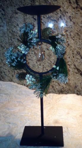 candelabro de navidad de 35 cm de largo nuevo