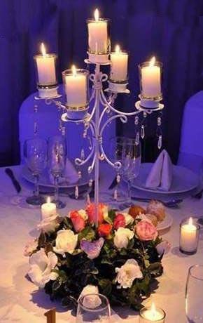 candelabro  para centro de mesa