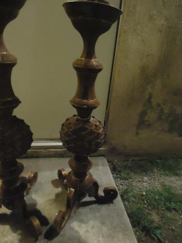 candelabros portacirios vintage