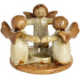 Titular Tealight - Circle Of Angels Vela Accesorio Inicio