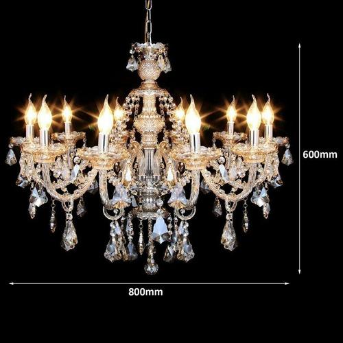 candil 10 luces candelabro moderno vintage focos incluidos