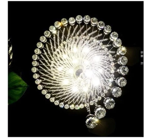 candil candelabro lámpara de techo cristal cortado