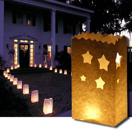 candle bags o bolsas para velas