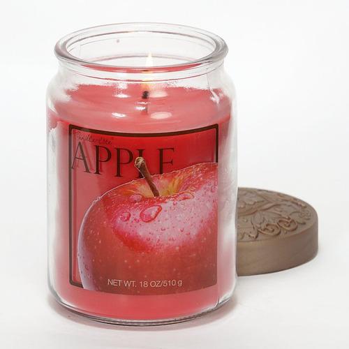 candle-lite candela aromática fresh fruit apple 18oz
