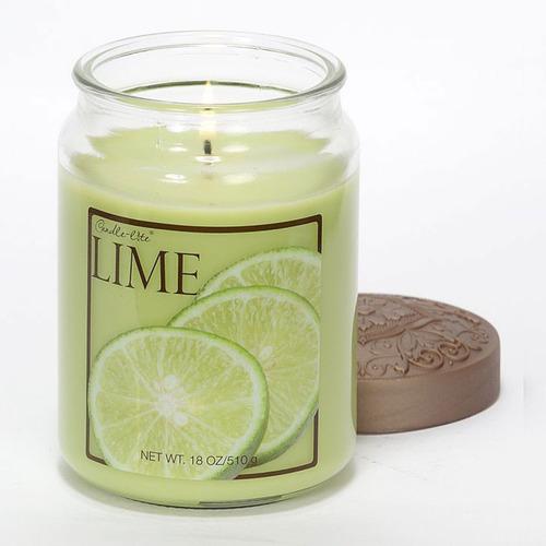 candle-lite candela aromática fresh fruit lime 18oz - barulu
