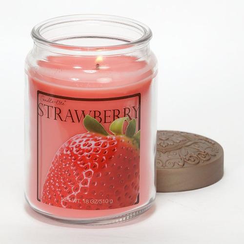 candle-lite candela aromática fresh fruit strawberry 18oz