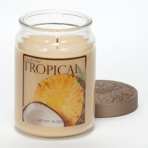 candle-lite candela aromática fresh fruit tropical 18oz