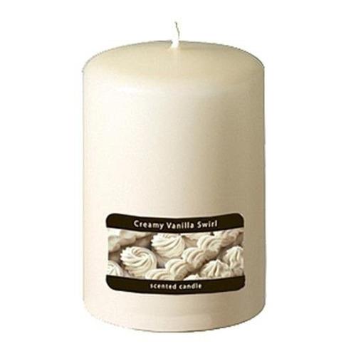 candle-lite candela aromática pilar 2.75 x4  creamy vanilla