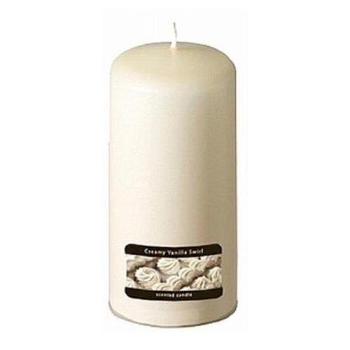 candle-lite candela aromática pilar 2.75 x6  creamy vanilla