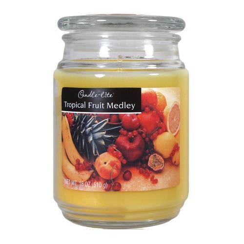 candle-lite candela aromática tropical fruit medley 18oz