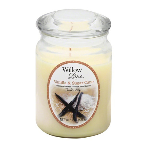 candle-lite candela aromática willow lane vanilla & sugar