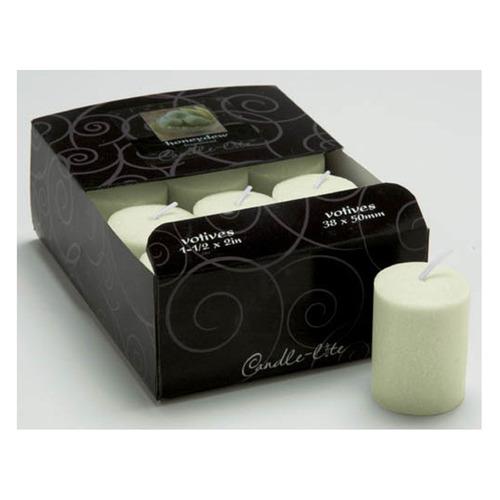 candle-lite candela votiva clásica juicy melon - barulu