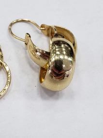 1c2b446b0e74 Candongas Oro Puro 750 - Relojes y Joyas en Mercado Libre Colombia