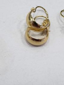 cfb38e42534b Candongas Oro Puro 750 - Relojes y Joyas en Mercado Libre Colombia