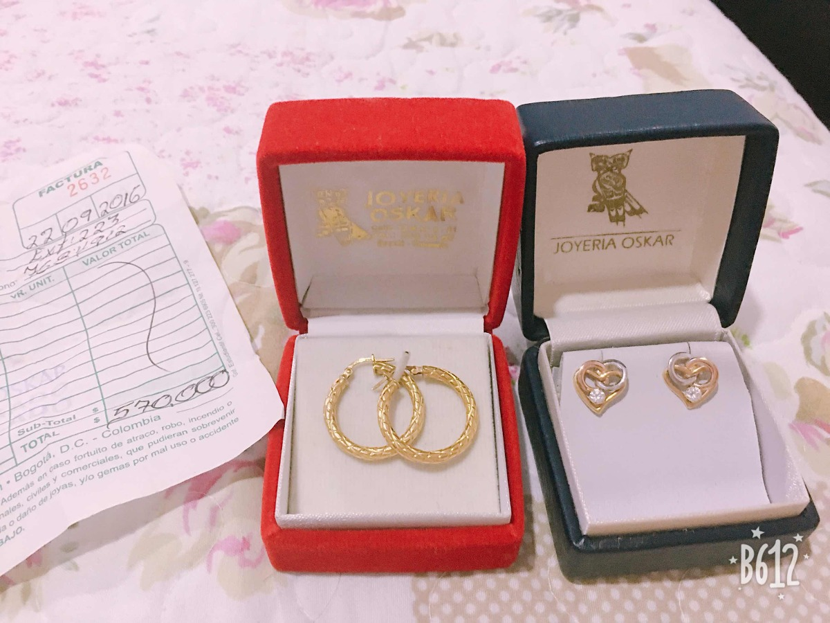 9bc6bfd95e40 Candongas Y Aretes Oro -   570.000 en Mercado Libre