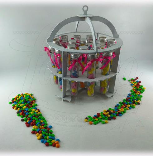 candy bar 14 productos fibrofacil gigante  +nombre de regalo